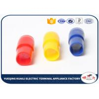 Quality Soft PVC Vinyl Wire End Caps , HHC Series Insulation Terminal Sleeves Covers for sale