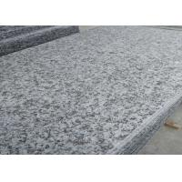 66.5Mpa Compressive Strength Granite Bathroom Tiles , Grey Granite Floor Tiles