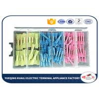 Quality 125PCS wire butt heat shrink wire connectors kit insulated crimp butt terminal KLI-9919964 for sale