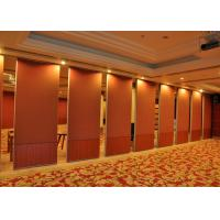 Red Carpet  Finish Temporary Office Walls  For KTVs 800 - 1230MM