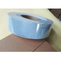 Quality Highly Fabric Backing Conspicuity Solas Reflective Tape Silver For Sew On Lifejackets for sale