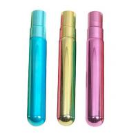 Quality Refillable UV Glass Tube Bottles 5ml 8ml 10ml Empty Attar Bottles With UV Cap Atomizer for sale