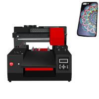 Quality Commercial A3 Size UV LED Inkjet Printer 300×600 Mm With Emboss Effect for sale