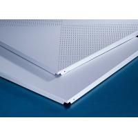 Buy cheap Perforated 600x600MM Clip In Ceiling System for Hotel from wholesalers