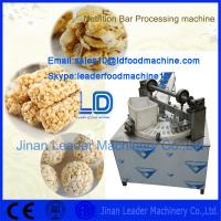 Quality Energy-saving Nutrition Bar Product Making machine for sale