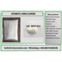 China Fat Burning Stearoyl Vanillylamide Fat Loss Powder For Weight Loss Supplements Cas.58493-50-8 on sale