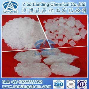China Lump/ Powder Aluminum Ammonium Sulphate on sale