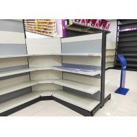 Buy cheap Metal Material Supermarket Display Shelving L1200xW1000xH1800MM 5-6 Layers from wholesalers