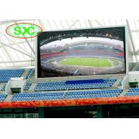 Buy cheap High Brightness P10 Led Display stadium,TV Video Screen For Playing Fields from wholesalers