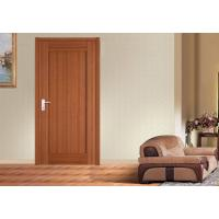 Quality Oak PVC Vinyl MDF Panel Doors , Stopper Thickness 35/40/45mm MDF Kitchen Doors for sale