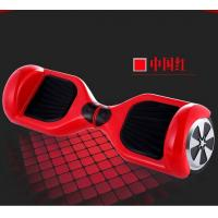 Quality Red 2 Wheel Stand Up Electric Balancing Board , Smart Drifting Scooter for sale