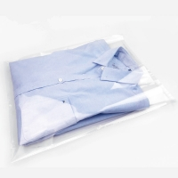 China OPP Clear Resealable Self Adhesive Plastic Cellophane Bags For Goods Packaging on sale