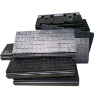 Quality Railroad rubber panels elastic crossing. Railway Rubber Pad,Railway buffer rail track, rubber plate slab sheet for sale