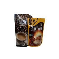 Quality Resealable Doypack Coffee Valve Bags Stand Up Zipper Lock Bag 500G / 1KG for sale