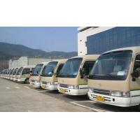 Quality 2010 Year Used 23 Seater Bus , Japan Toyota LHD Coaster 1HZ Diesel Engine Bus for sale