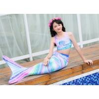 China 2019 New Girls Swimsuit Unicorn Mermaid Tails for Swimming Princess Bikini Bathing Suit Children's Day for 3-12Y on sale