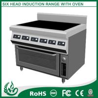 Quality Newest design Stainless steel electric range 6 burner for sale