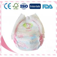Quality High Quality Breathable Cotton Baby Diaper With Magic Paste for sale