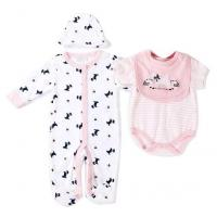 Quality Spring Autumn Baby Clothes Gift Set 180G 100% Cotton  Interlock Nb - 9M for sale