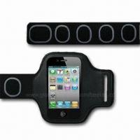 Quality Sports Armband Case/Holder for iPod/iPhone 4/4S, Various Colors are Available for sale