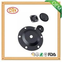 Quality Black FKM Oil-Proof Rubber Diaphragm High Temperature Resistance for sale