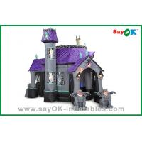 China Funny Halloween Inflatable Decoration Blow Up House For Holiday Decorations on sale
