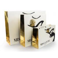 Buy cheap Luxury Shopping Paper Bags with Your Own Logo Printing Paper Bags from wholesalers