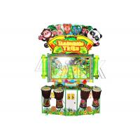 Cute Amusement Game Machines / Tambourine Tribe Child - Parents Interactive Hit Drum Game Machine