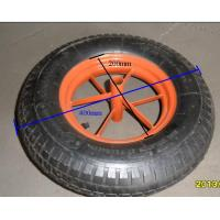 China rubber wheel for wheelbarrow on sale
