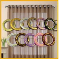 Quality Fashion Prime ABS Plastic Custom Curtain Rings Circles Rod Accessories for sale