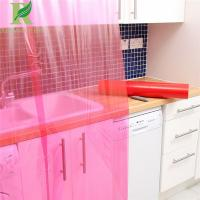 Quality 0.03-0.2mm Red Direct Factory Adhesive Film for Cupboards Surface Protection for sale