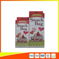 Custom Colored Printed Ldpe Reusable Ziplock Snack Bag Sandwich Bags At Whole Prices