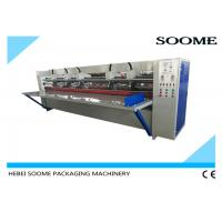 China 17mm Thick Board Slitting Creasing Machine , Corrugated Carton Thin Blade Slitter Scorer on sale