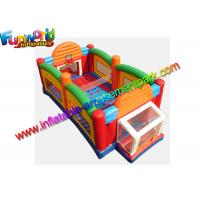 Quality 0.55mm PVC Tarpaulin Ultimate Sport Inflatable Combo Game All In One Arena For Fun for sale