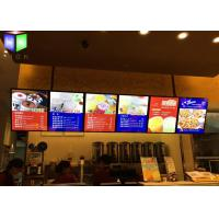Menu Lightbox LED Restaurant Menu Boards Backlight Aluminum Alloy Frame