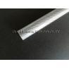 Buy cheap Chrome silver glossy fiberglass tube 30mm OD, fibreglass decoration tube from wholesalers