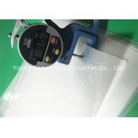 Quality Crack Resistance Pouch Laminating Film A4 Glossy 216x303mm For Luggage Tags for sale
