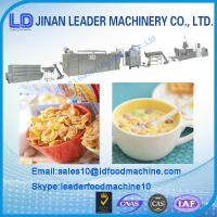 Quality Automatic New Corn Flakes breakfast cereals food Processing Line for sale