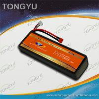 China UN38.3 MSDS Approval RC Car Battery Packs 11.1V 10900mAh 50C Rate on sale