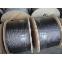 China Hot 304 316 Stainless Steel Wire Rope on sale