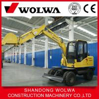 Quality Made in China factory 6 ton wheel excavator for sale for sale