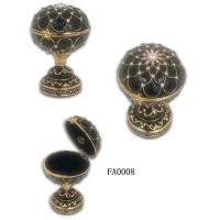 Quality Faberge Egg Box Faberge Egg Jewelry Box Faberge Egg Jeweled Box for sale