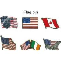 Quality Flag pin,badges,safety pin for sale