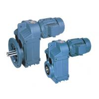 Quality Parallel Shaft Helical Geared Motor Worm Gear Speed Reducer , P Series for sale