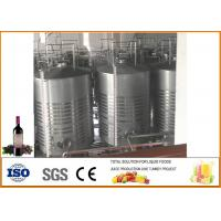 China Mulberry Fruit Wine Fermentation Equipment 304 Stainless Steel Material 12 Months Warranty on sale