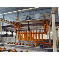 Quality W2570mm 380V Hoist AAC Block Making Machine For Finished Concrete for sale