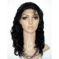 Quality Promotion Top Quality 14inch Natural Black Human Hair Body Wave Full Lace Wig for sale