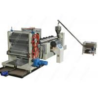 Quality Waterproof Drainage Board Production Machine Line With Dimpled Plastic Sheet for sale