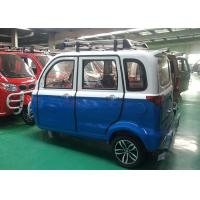 Quality Enclosed Gasoline Tricycle 200 CC For Passenger Automatic Clutch 60 Km/H Max for sale