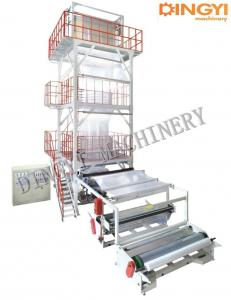 China Double Rewinder  0.15mm LDPE LLDPE Blown Film Extrusion Machine on sale